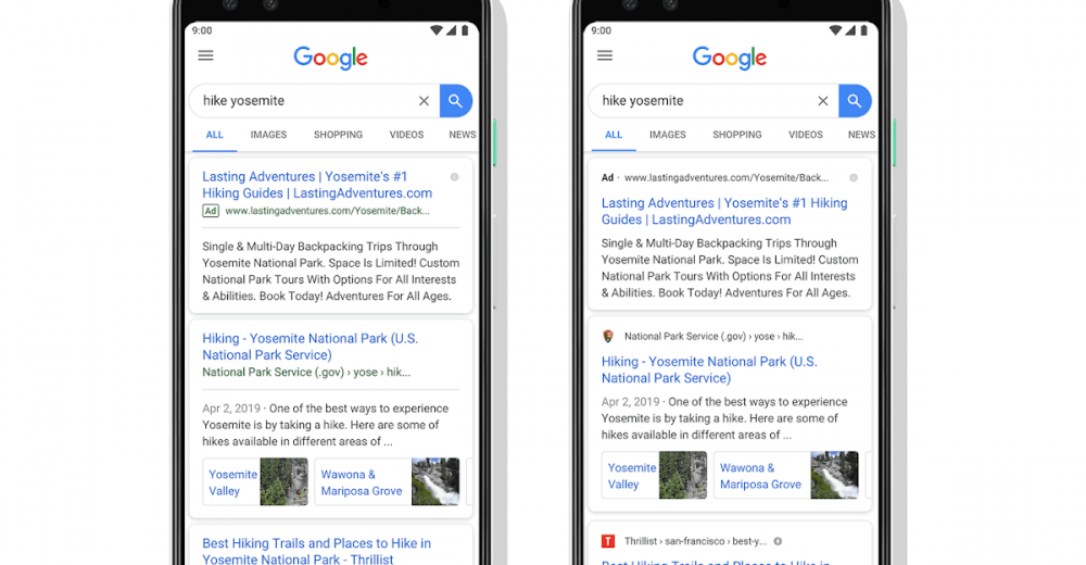 Favicon Now Play A Role In Google Mobile Search Result